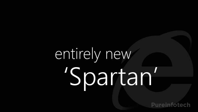 Microsoft Spartan web browser