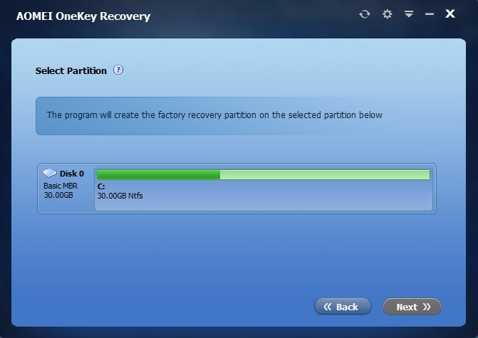 how to use onekey recovery