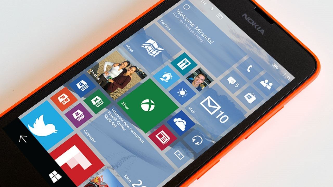 Windows 10 Technical Preview for phones (first build)