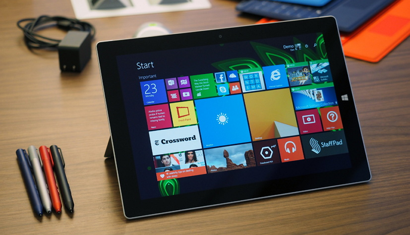 Surface 3 tablet without Type Cover