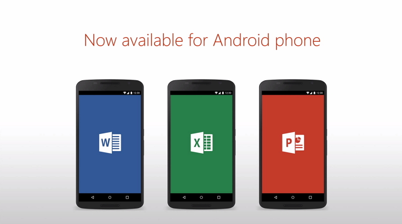 Microsoft office apps for android phones are now freely available for download pureinfotech - Office apps for android free ...