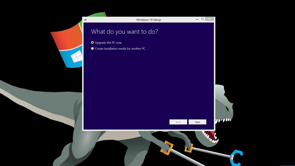 download windows 10 upgrade manually