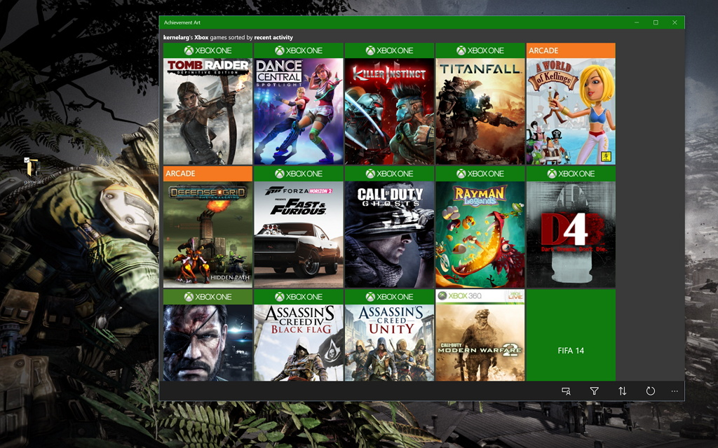 xbox one how to set wallpaper