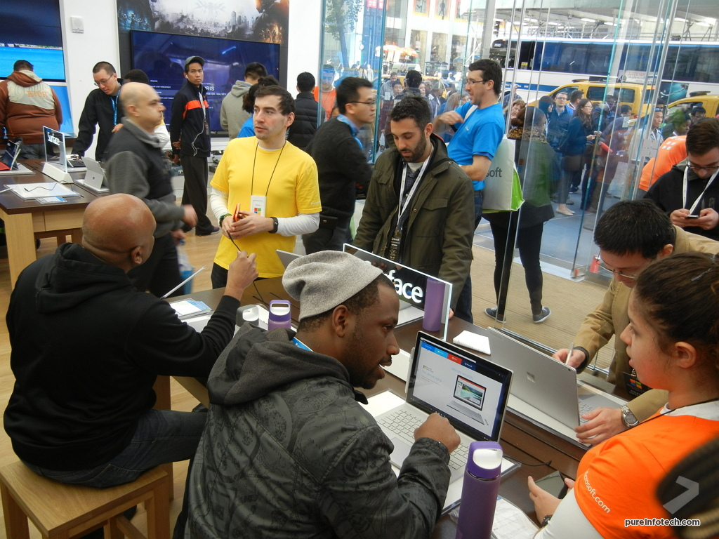 Microsoft Store products in NYC