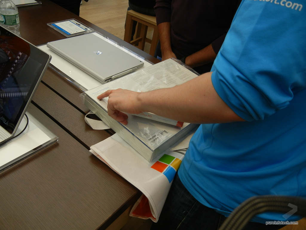 Surface Book box