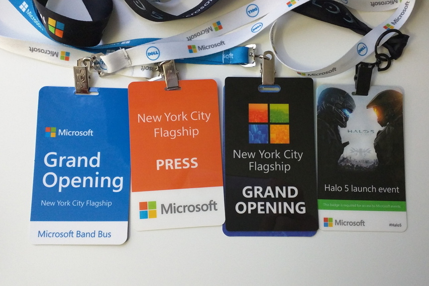 Microsoft Store grand opening NYC, October 26th, passes