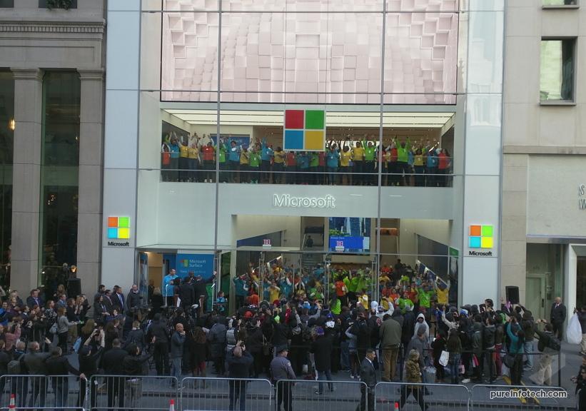 Microsoft Store opening 2