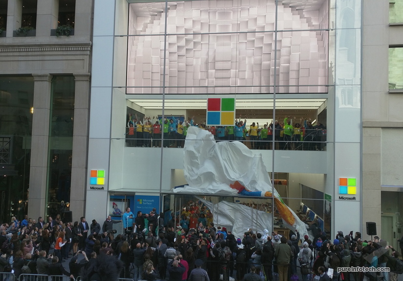 Microsoft Store opening 1