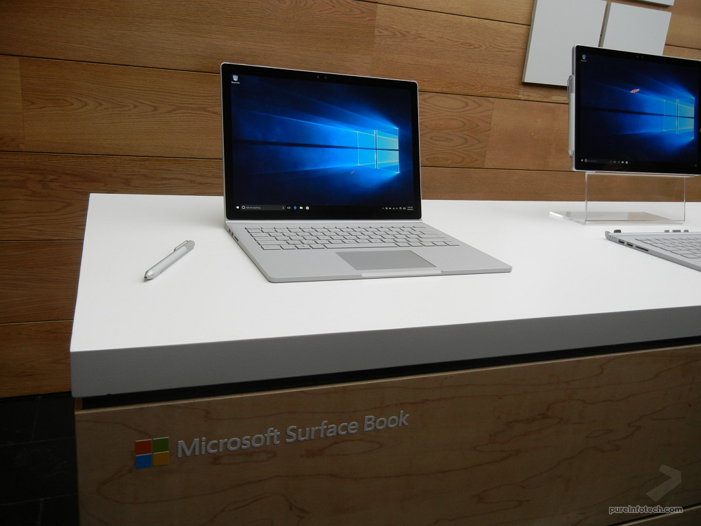 surface book first look in pictures of the ultimate laptop gallery pureinfotech. Black Bedroom Furniture Sets. Home Design Ideas