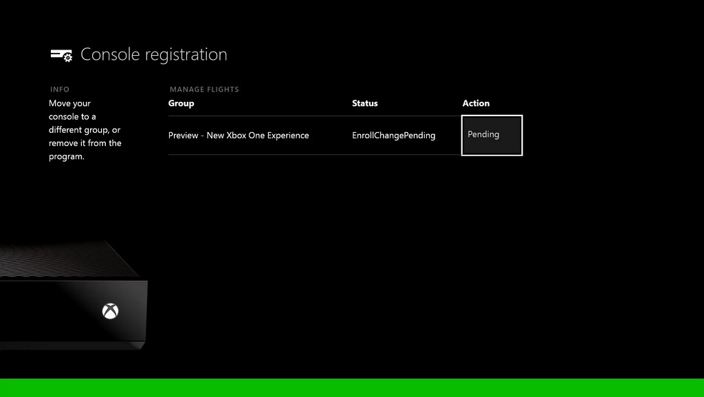 New Xbox One Experience opt-in