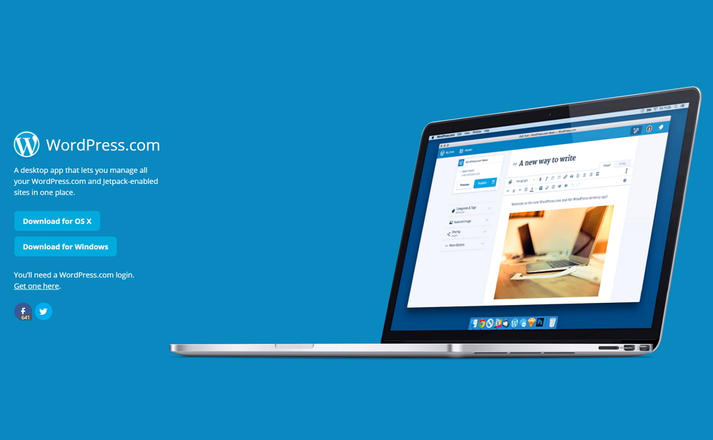 Automattic releases WordPress desktop app for Windows