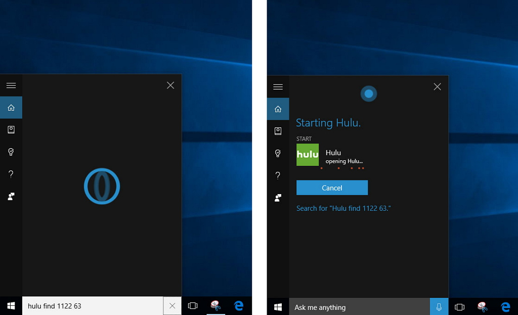 Hulu universal app with Cortana support arrives to Windows 10 • The ...