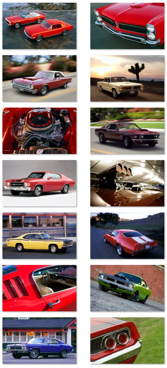 Muscle Cars wallpapers for Windows