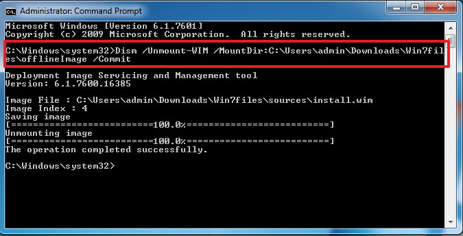 how to make iso image of windows 7 from folder