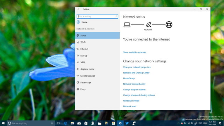 Fix Wi-Fi on Windows 10 with the Network Reset feature