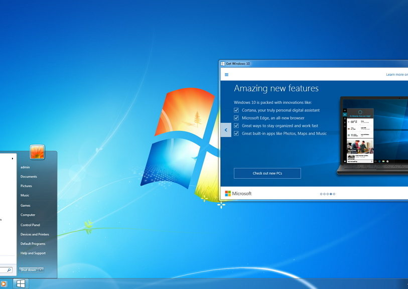 Free upgrade Windows 7/8.1 to Windows 10 after July 29, 2016