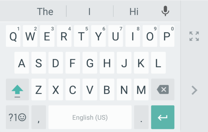 Google Keyboard now features one-handed texting mode on