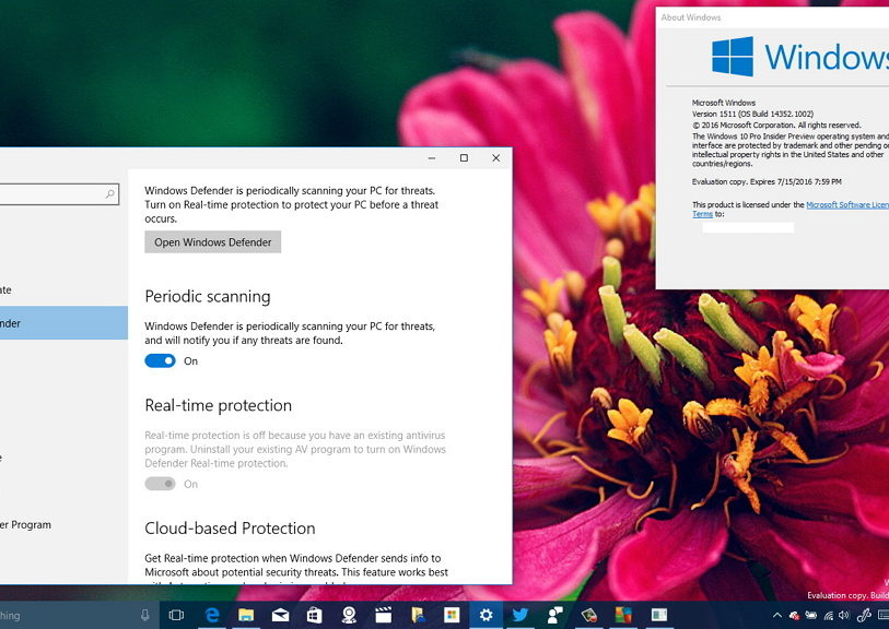 Windows 10 build 14352 hands on video