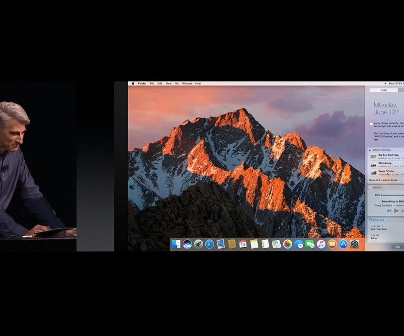 Apple WWDC 2016 keynote video
