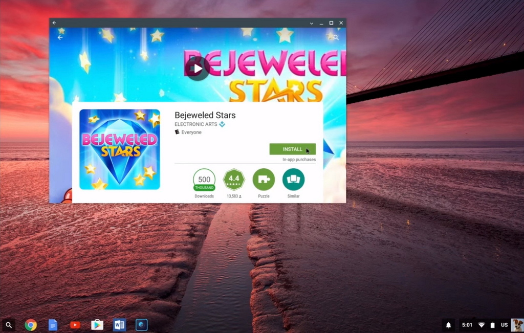 how to download google play store app on chromebook