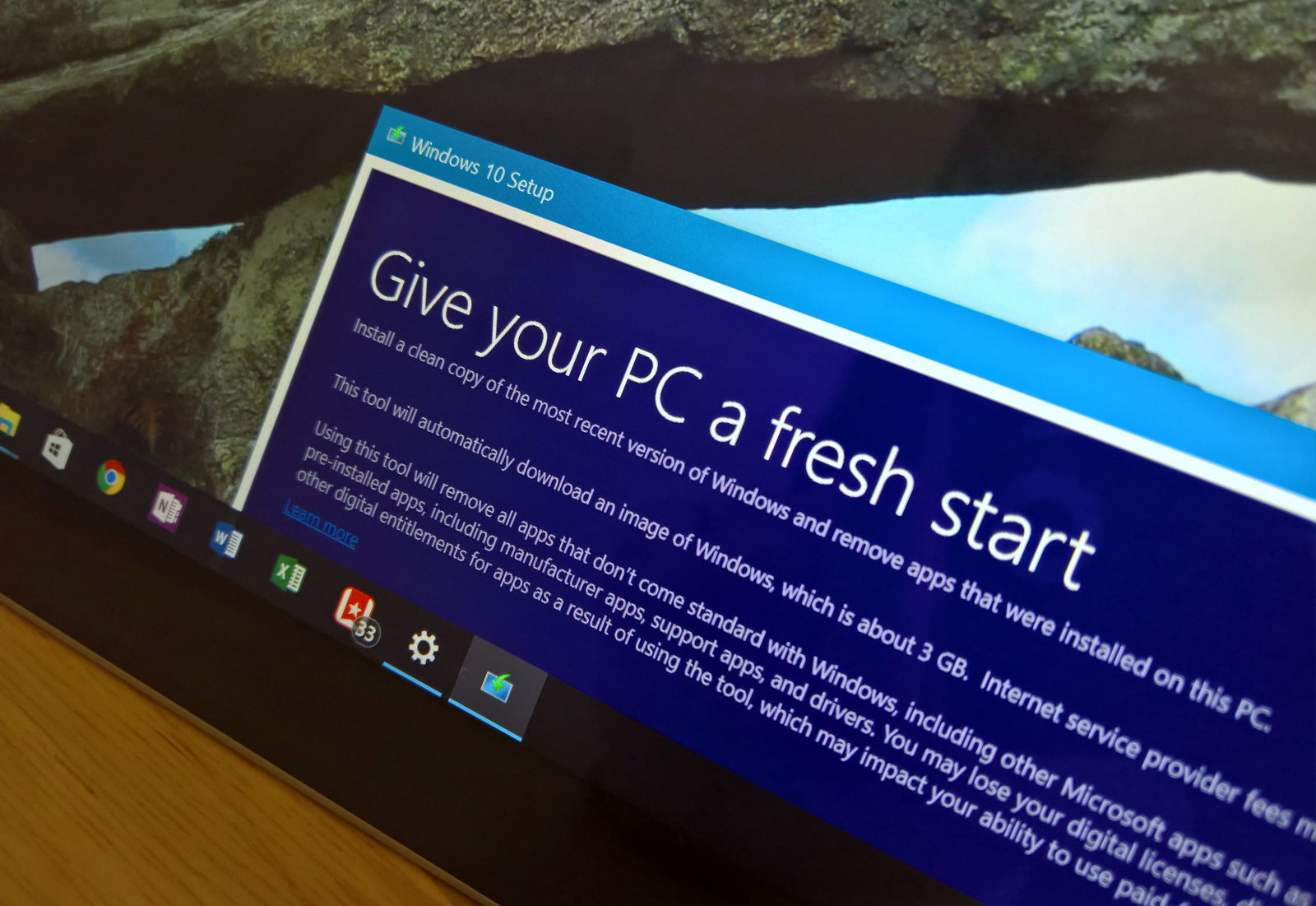 How to refresh your Windows 10 PC with a clean installation