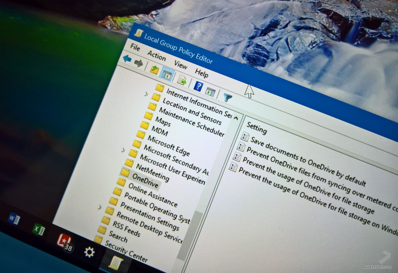 How to fully disable OneDrive on Windows 10 • PUREinfoTech