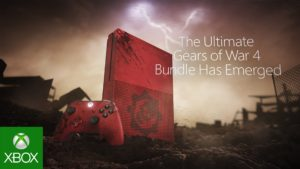 Gears of War 4 Xbox One themed console