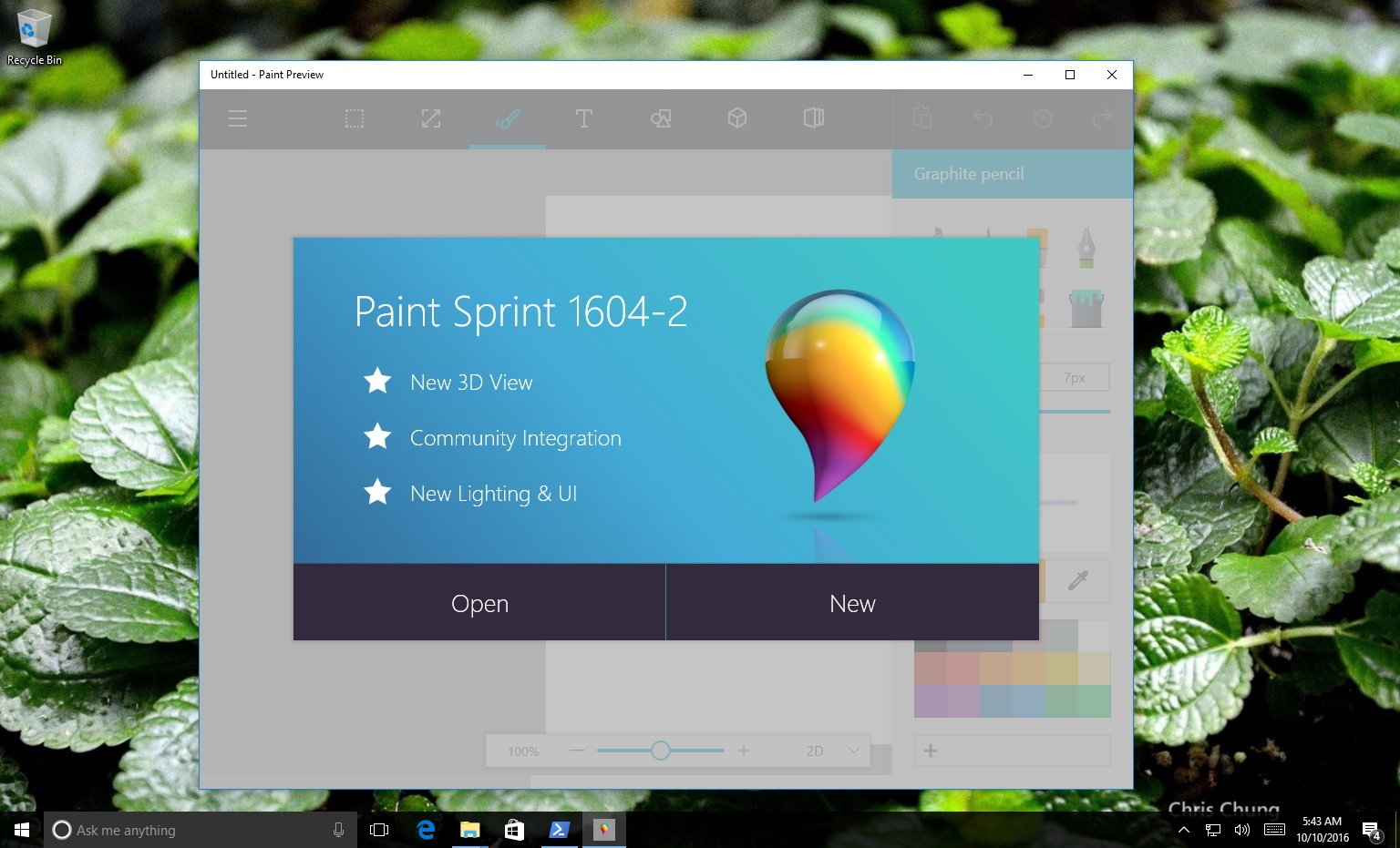 hands on with the microsoft 39 s new paint app for windows 10