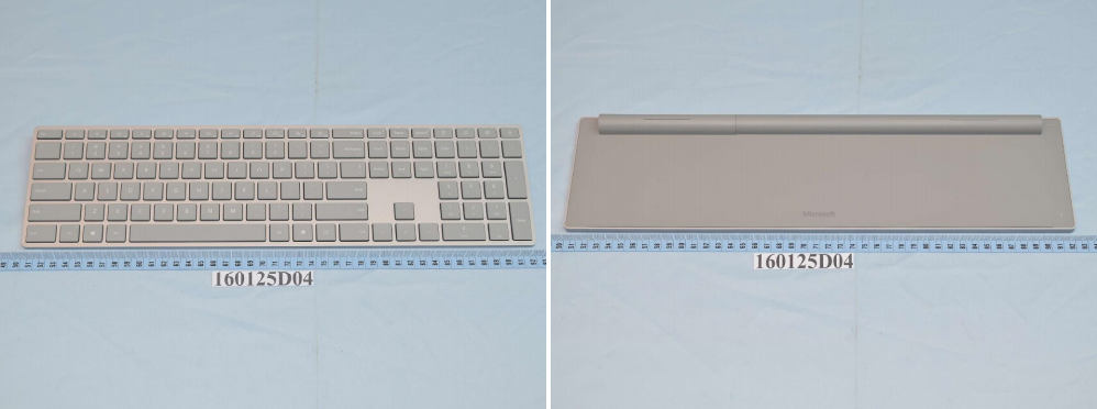 Surface-branded keyboad