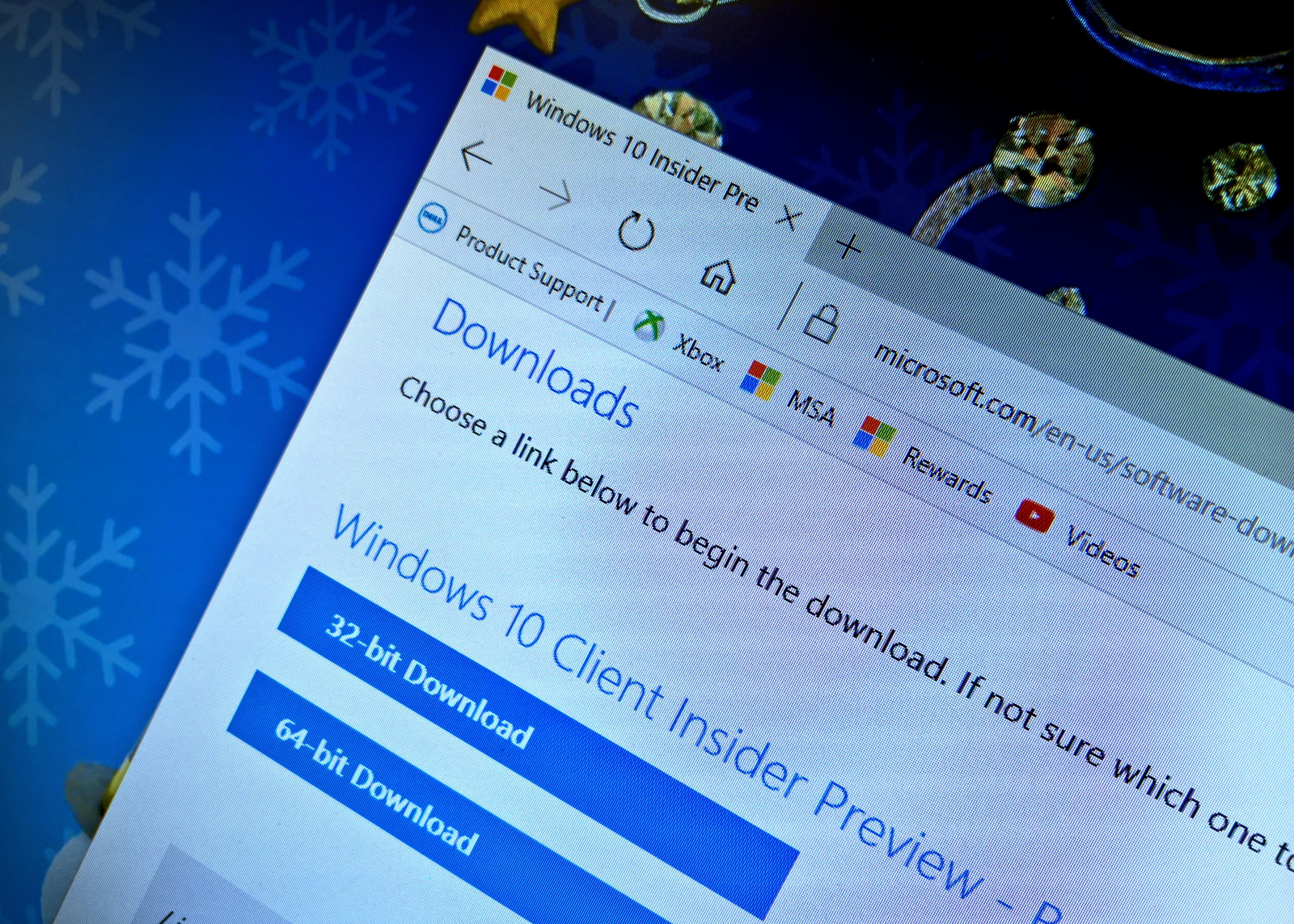 Download Windows 10 Insider Preview ISO files