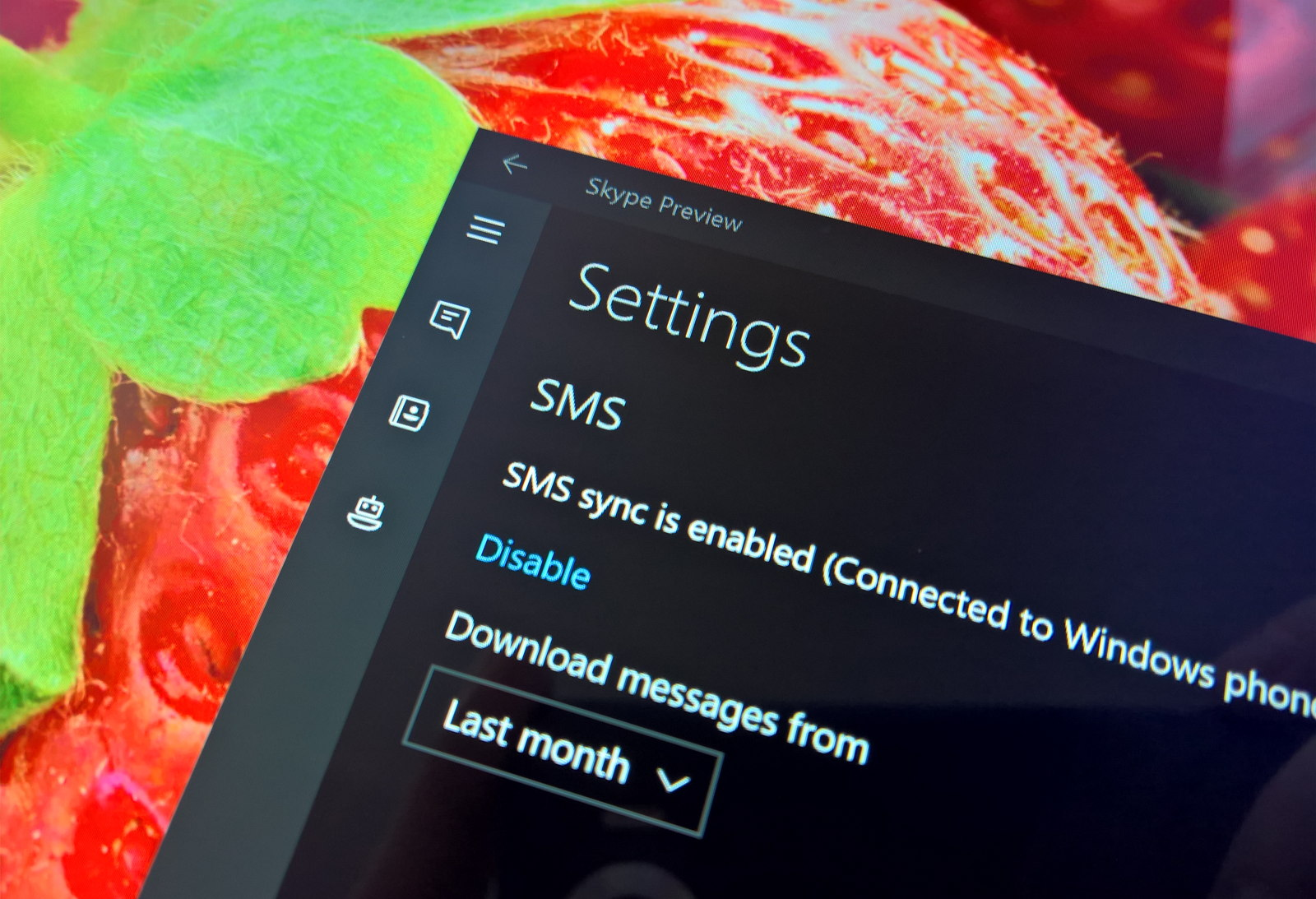 how to delete skype messages windows 10