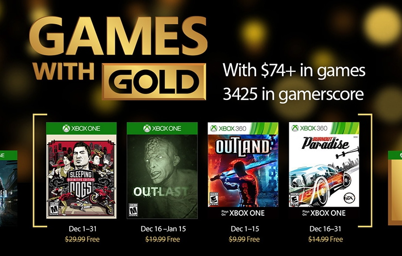 what are the two free games on xbox 360 for december 2014