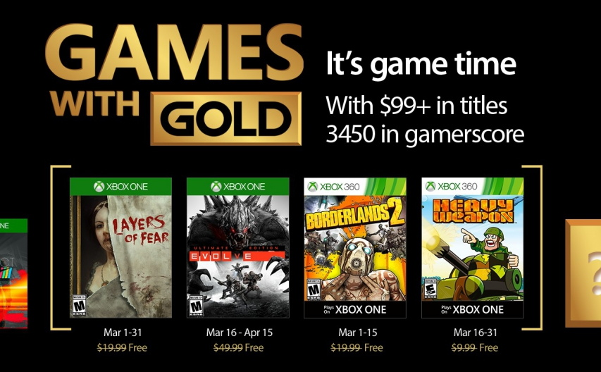 New Xbox One Games 2017 : Xbox games with gold for march pureinfotech