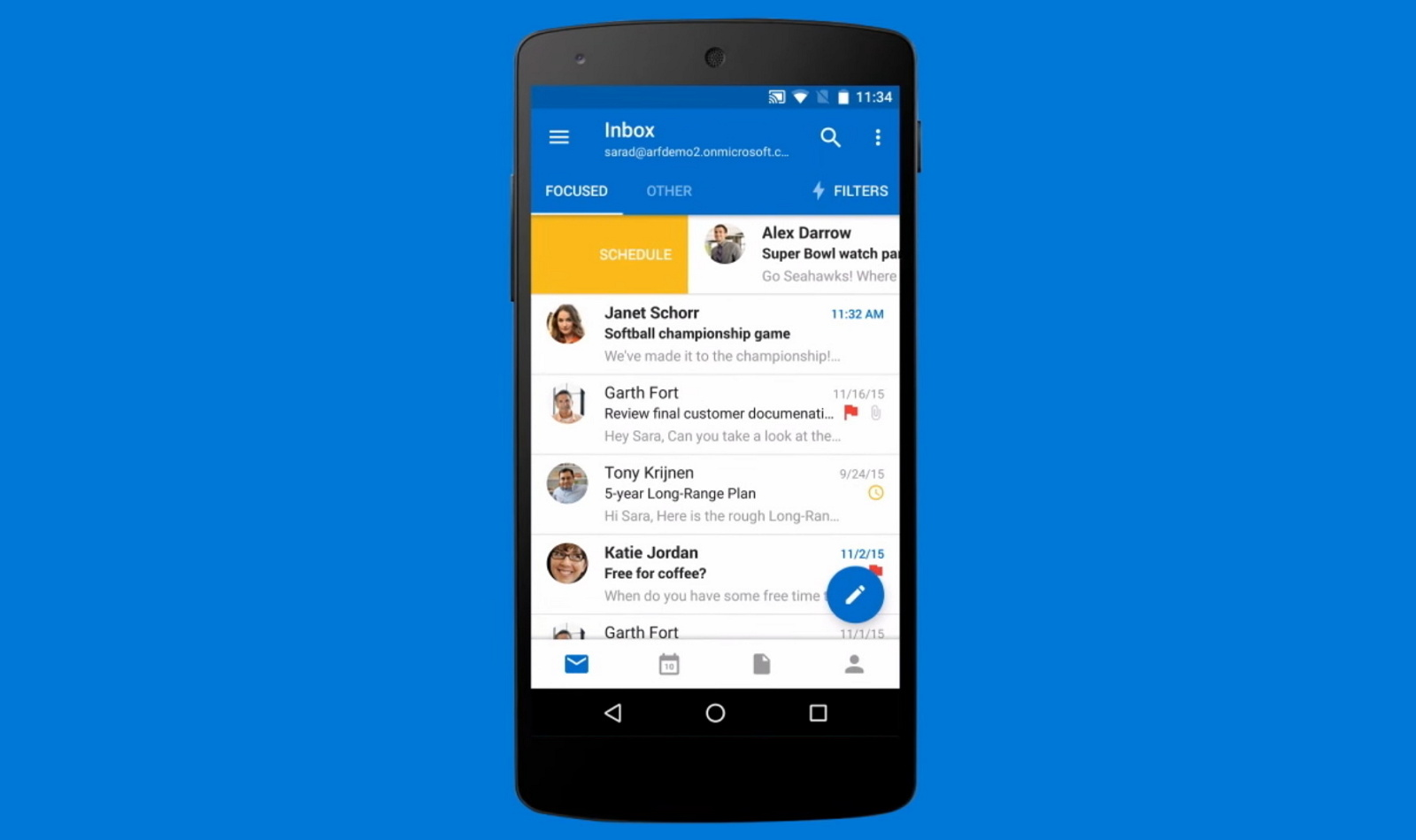 how to reset the outlook app when not working on android pureinfotech