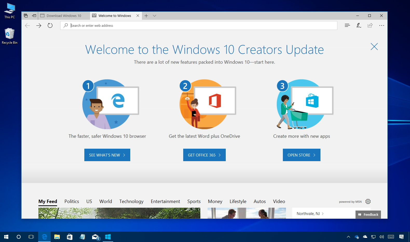 Download windows 10 creators update iso file rtm for Window 10 iso