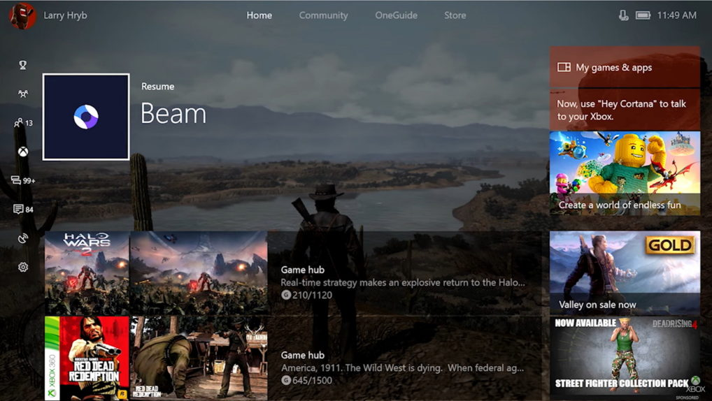 Xbox One Creators Update features