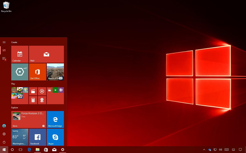 Windows 10 Redstone 3 update