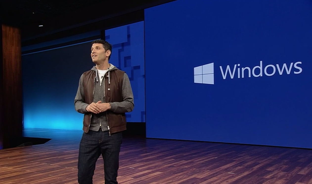 MIcrosoft Terry Myerson at Build 2017