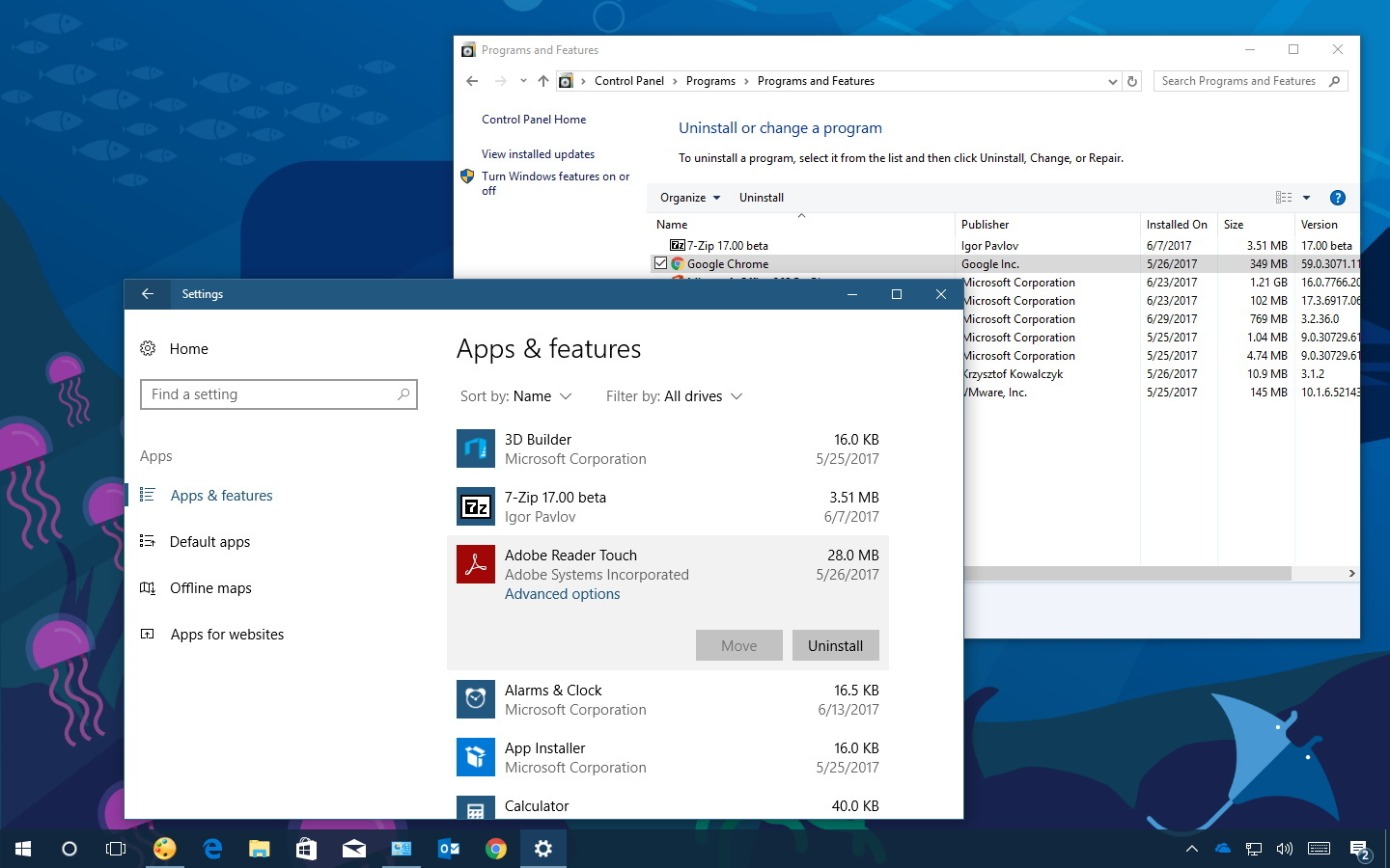 Uninstall incompatible apps on Windows 10