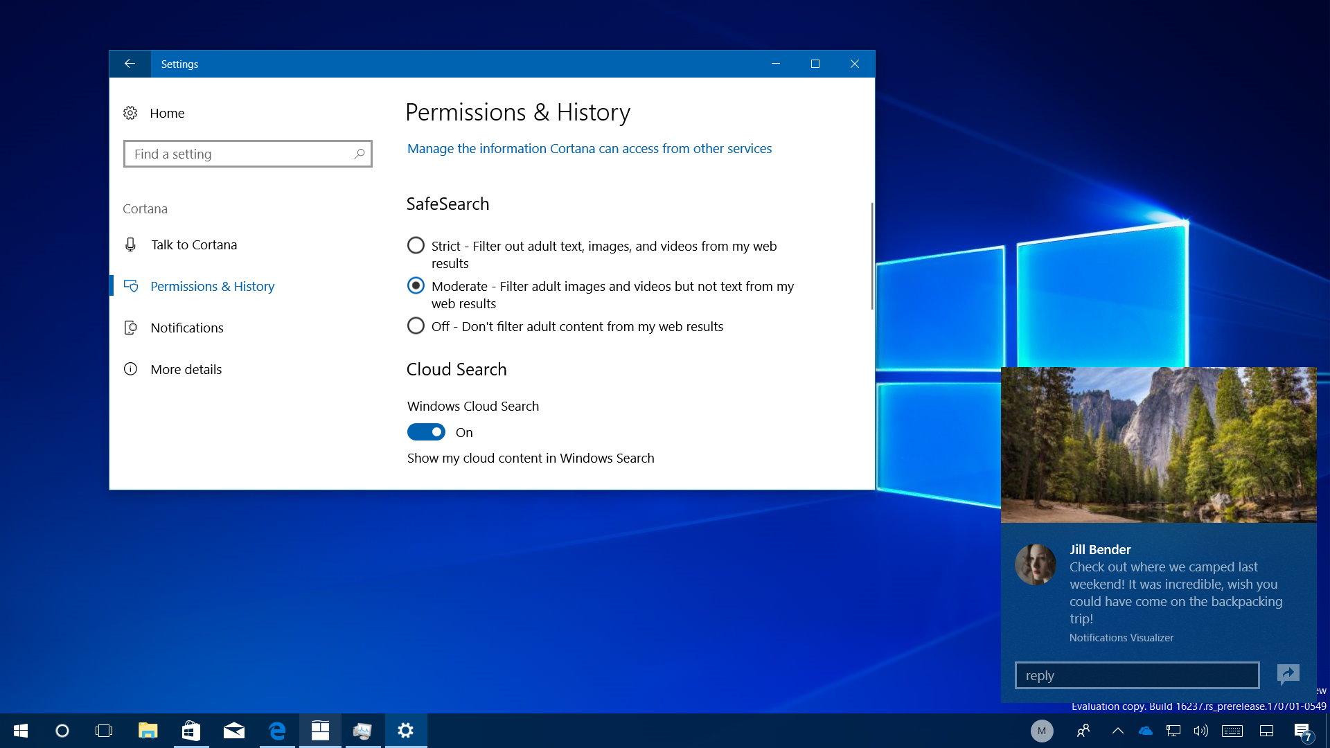 Windows 10 build 16237 hands on video
