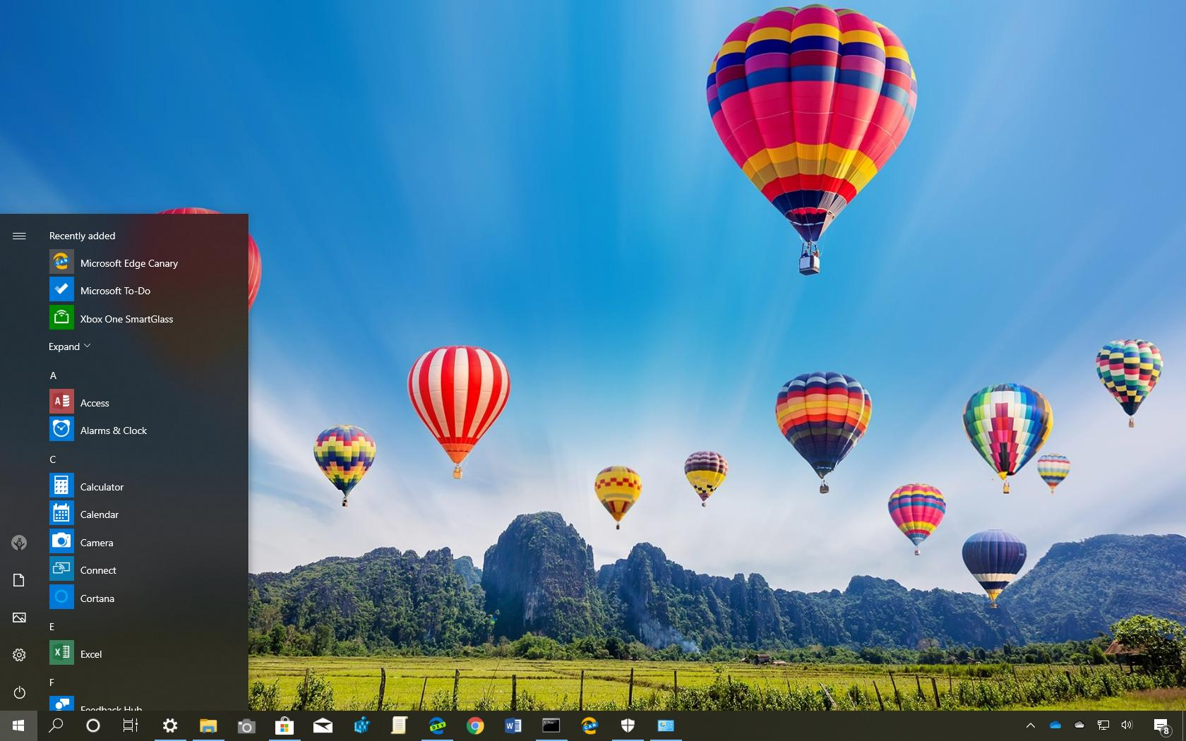 Hot Air Balloons Theme For Windows 10 Download Pureinfotech