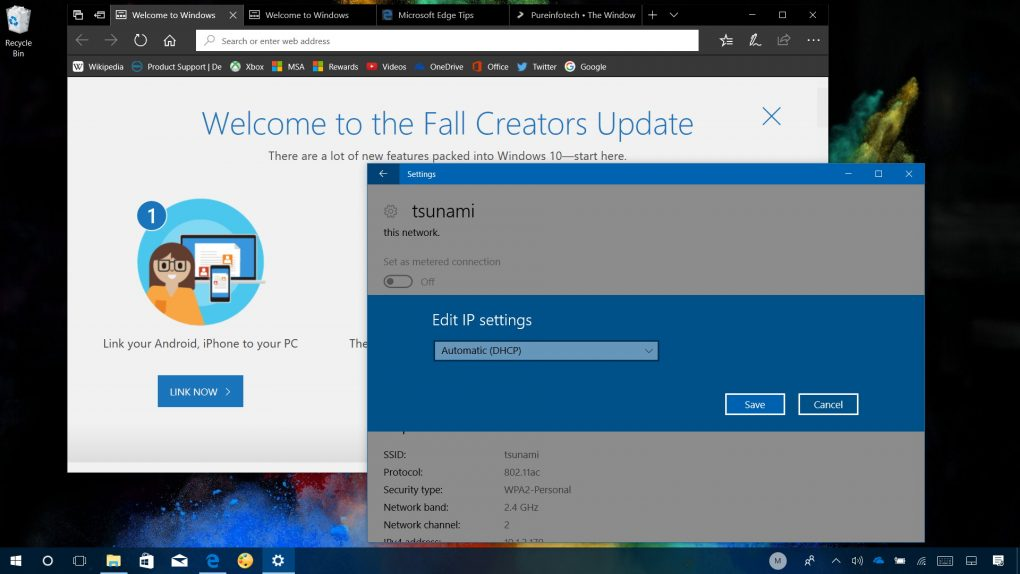 Windows 10 build 16294