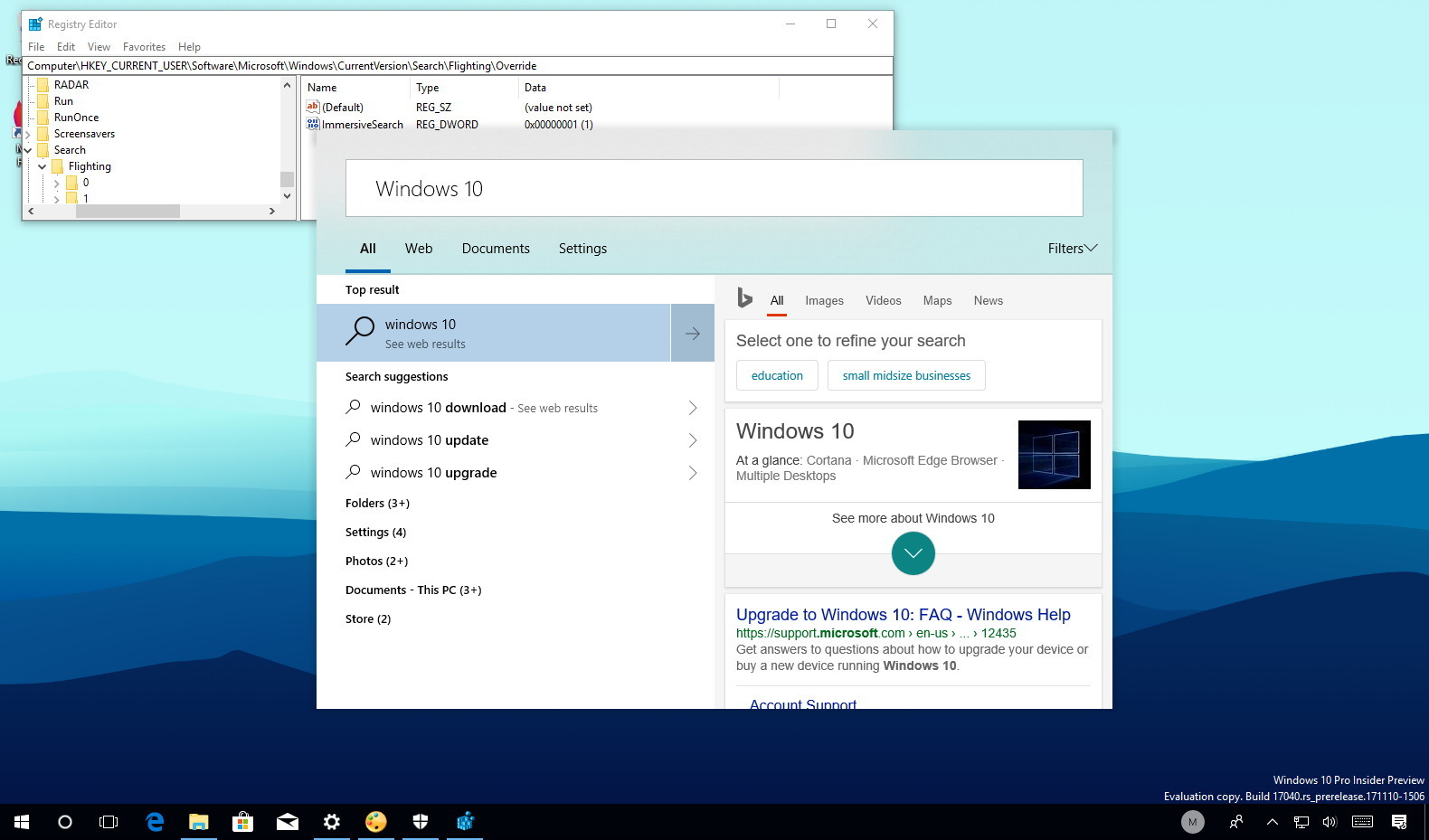 how to change windows 10 search bar to google