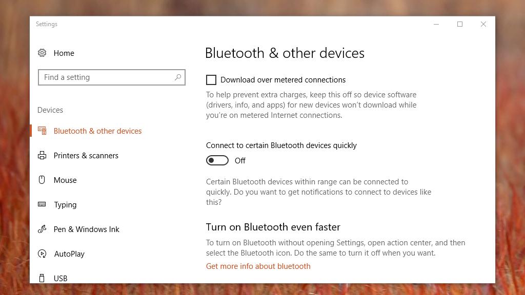 Quick Pair on Windows 10