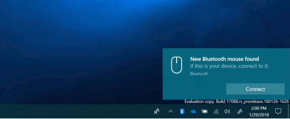 Bluetooth quick connect on Windows 10