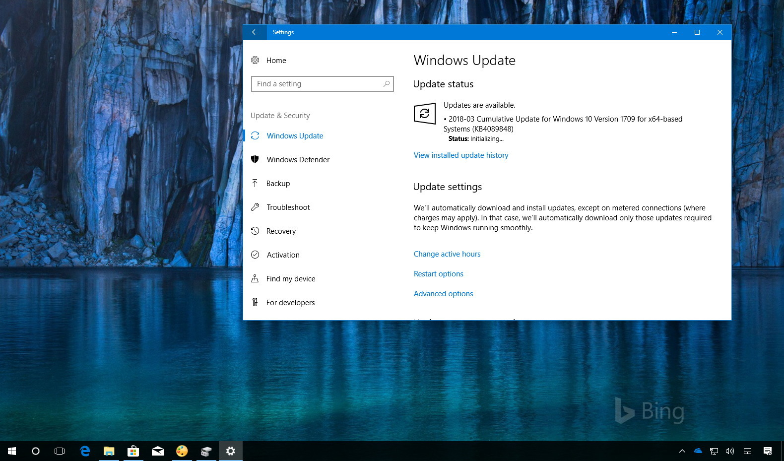 Windows 10 update kb4089848 build releases for Window 10 home