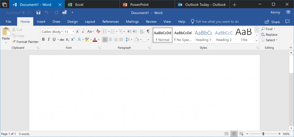 Windows 10 Sets with support for Office 365 apps