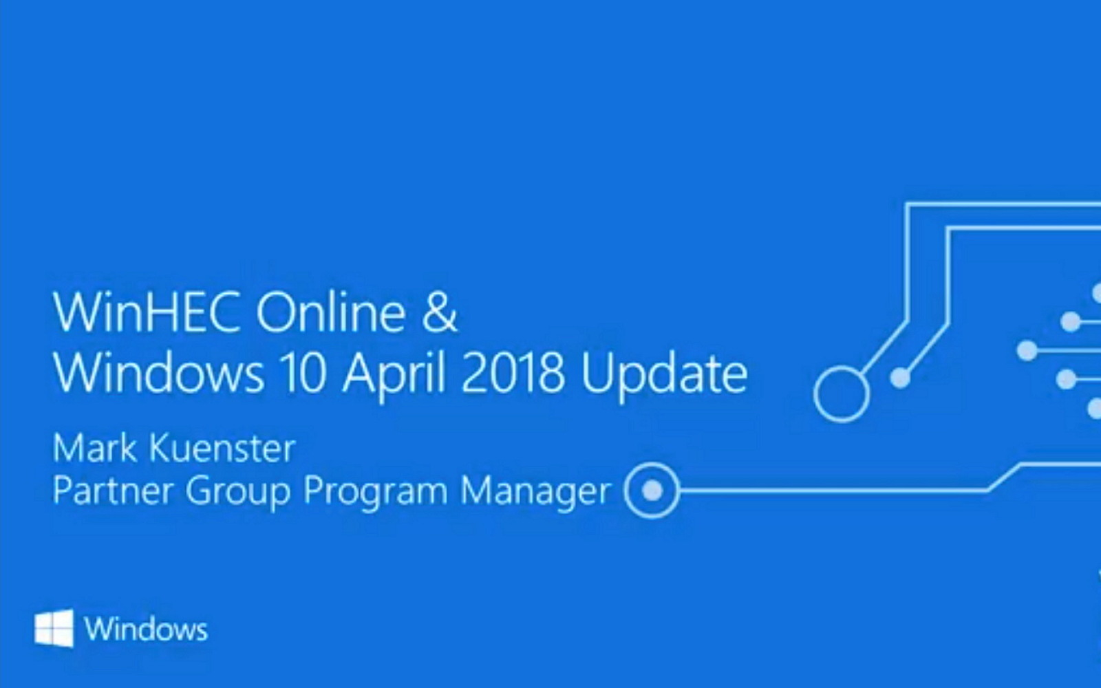 Windows 10 April 2018 Update reference