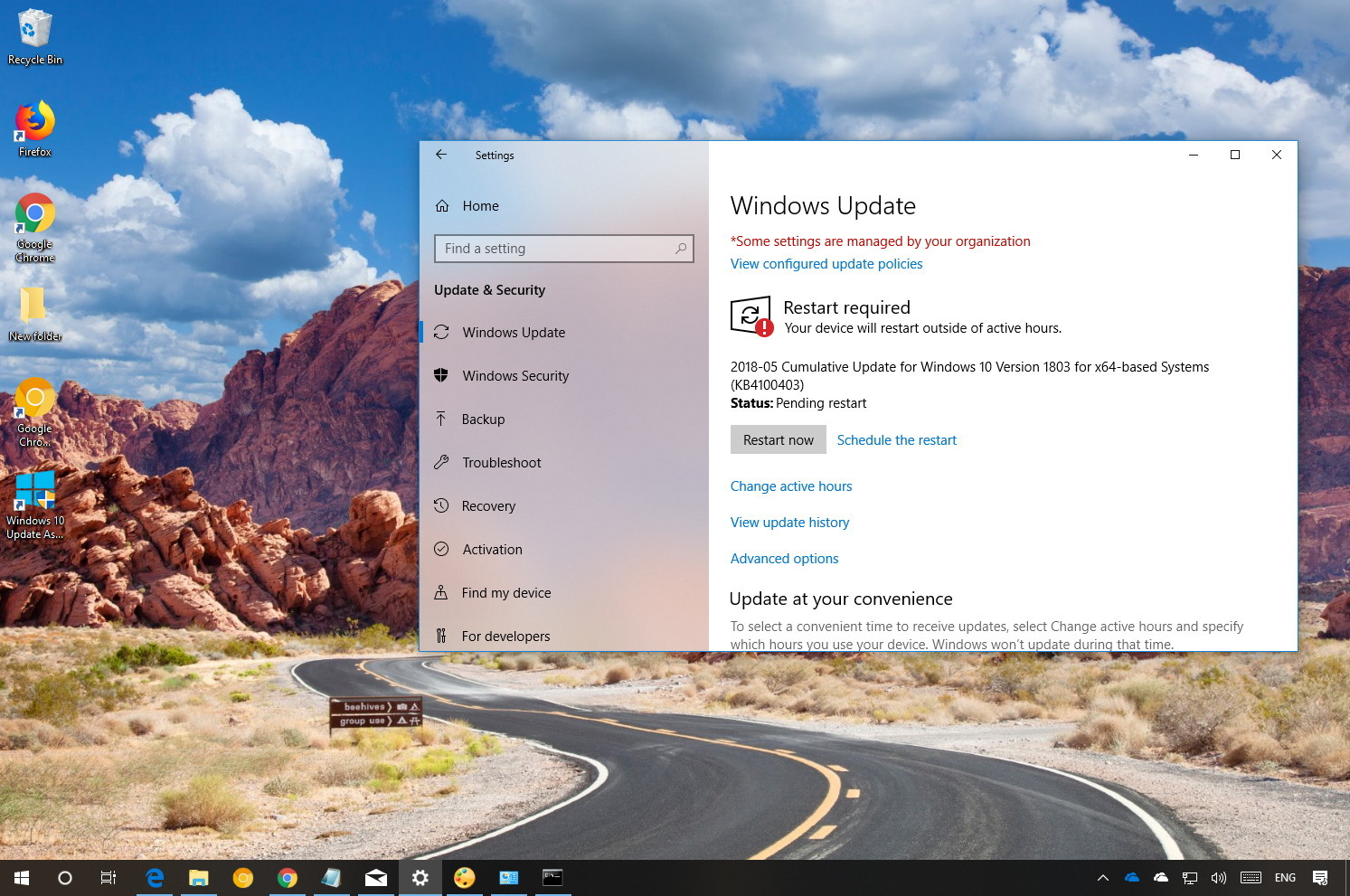 Windows 10 KB4100403