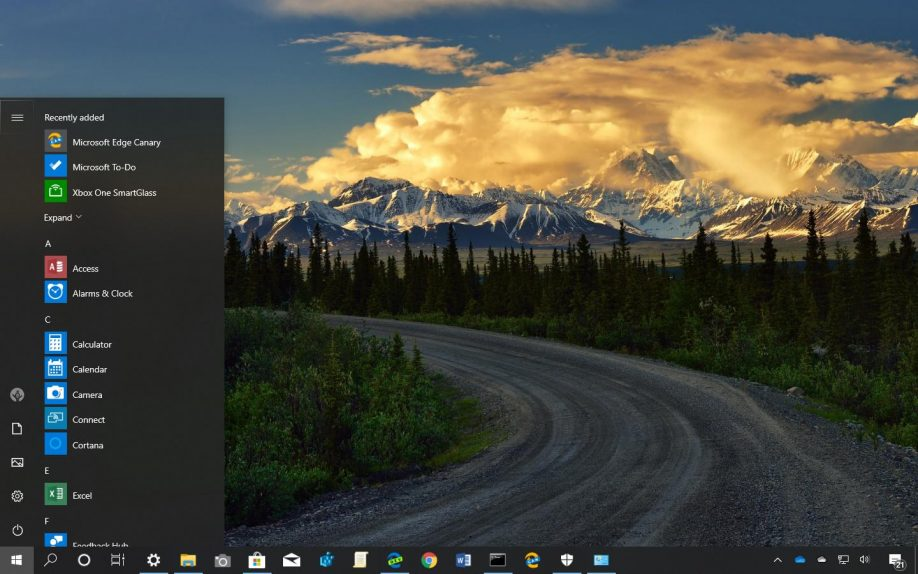 Hitting the Road theme for Windows 10 download